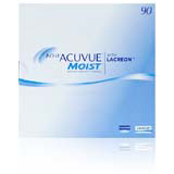 Acuvue Moist 90 Pack contact lenses